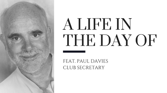 Header image, A Life in the Day of with photo of Paul Davies